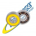 Pack 16 bearings 627 Roll-line Speed Race Abec9